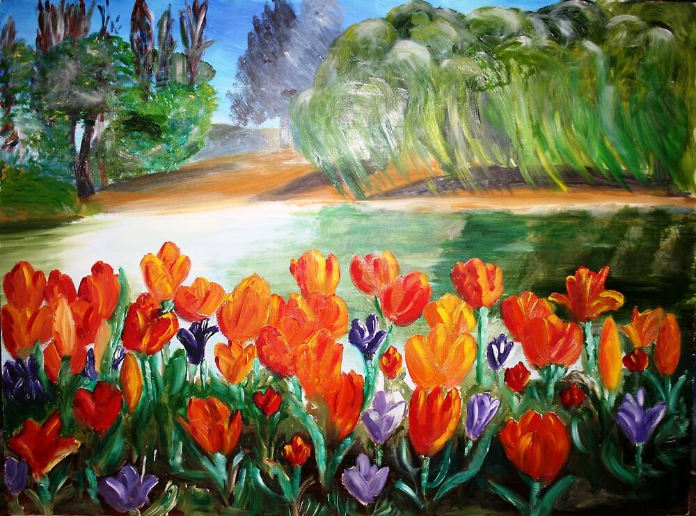 Tulips by Ian Malcolm