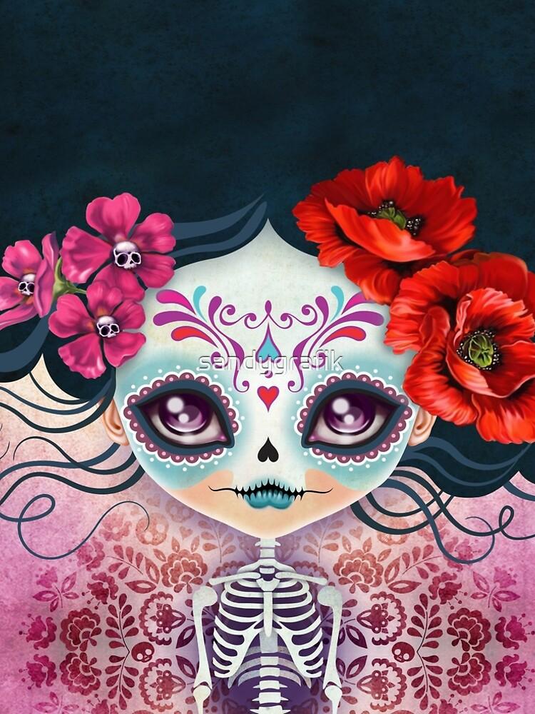 Amelia Calavera - Sugar Skull by sandygrafik