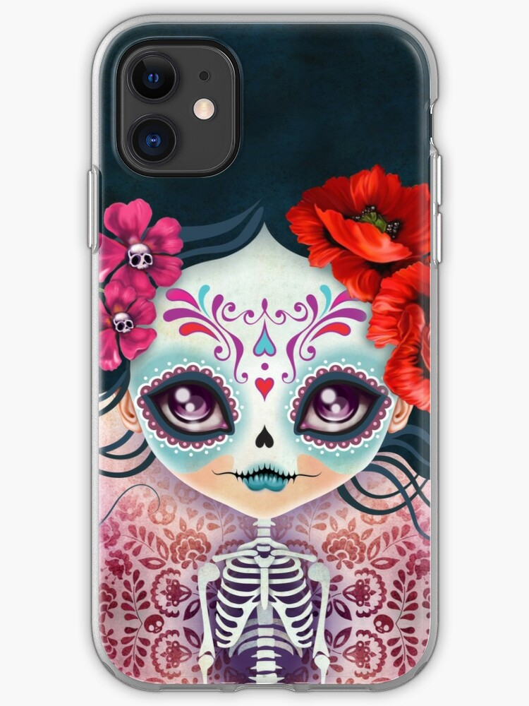Camila Huesitos Sugar Skull 2 iphone case