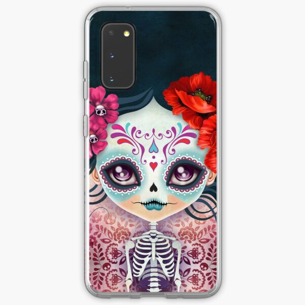 Amelia Calavera - Sugar Skull Samsung Galaxy Soft Case
