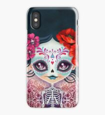 Amelia Calavera - Sugar Skull iPhone Case