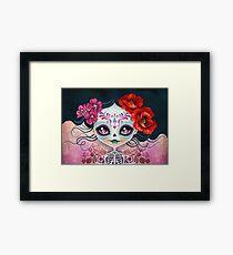 Amelia Calavera - Sugar Skull Framed Print