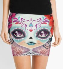 Amelia Calavera - Sugar Skull Mini Skirt