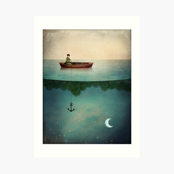 Entering Dreamland Art Print