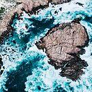 Sugarloaf Rock from above by Luke Baker