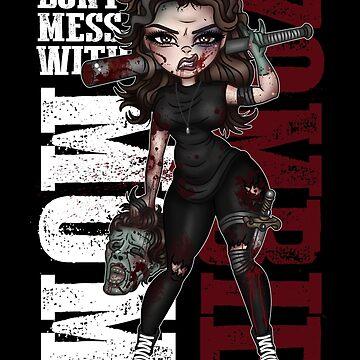 Zombie Mom by CherryMartini