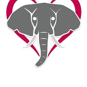 Be Kind To Elephants Shirts: Support Elephant Wildlife by ExpectedValue