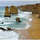 Great Ocean Road Abstracts by Marguerite Foxon