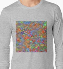 Sinking into deep thought Long Sleeve T-Shirt