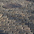 Cobblestone Street in Germantown, PA by Anna Lisa Yoder