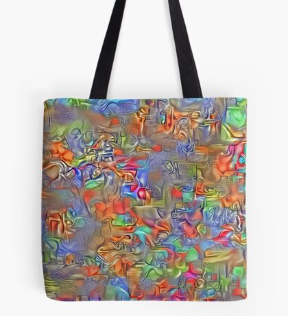 Sinking into deep thought Tote Bag