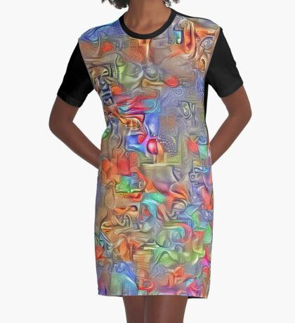 Sinking into deep thought Graphic T-Shirt Dress