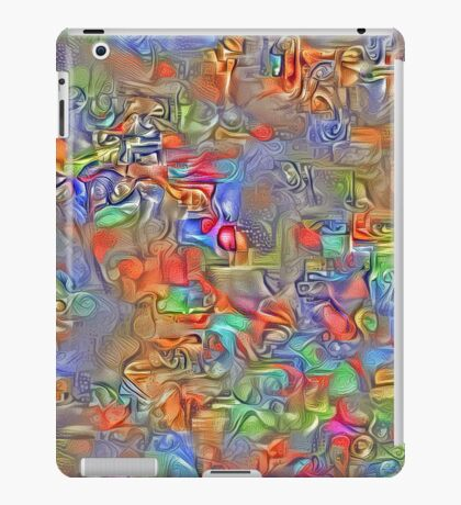 Sinking into deep thought iPad Case/Skin