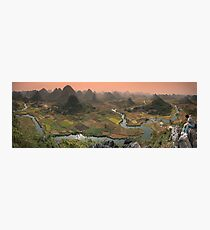 Guilin Mountains Photographic Print