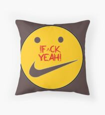 f^ckyeah by RootCat™ Throw Pillow