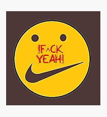 f^ckyeah by RootCat™ Photographic Print