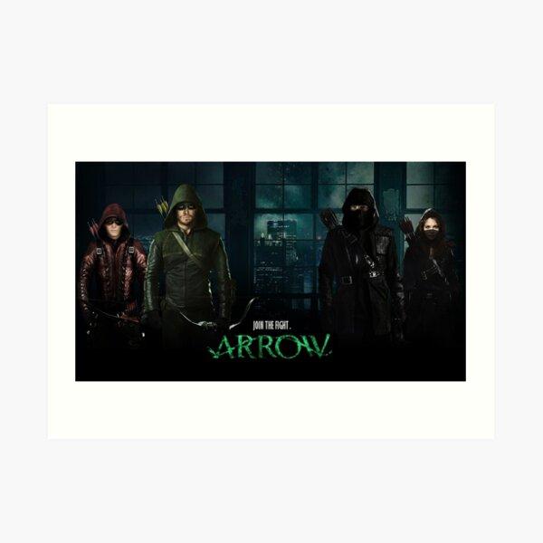 Arrow Series 2017 Art Print