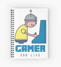 Gamer For Life Spiral Notebook