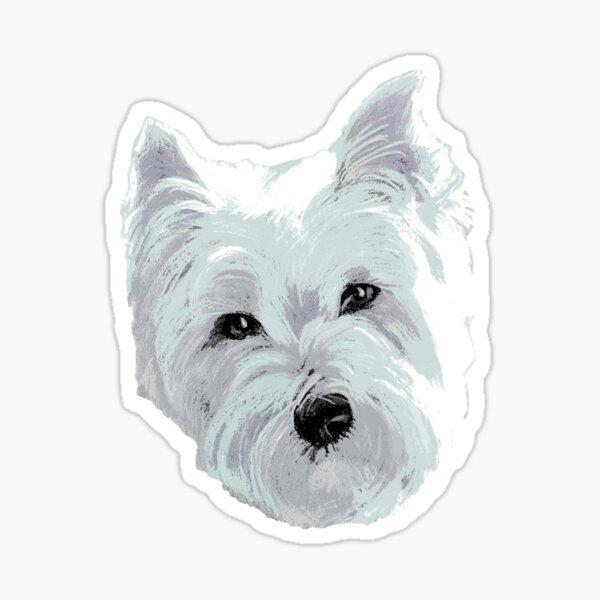 Westie Wonder ~ Face Sticker