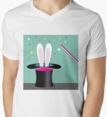 Magic Bunny Men's V-Neck T-Shirt