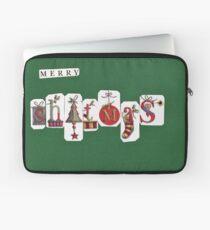 Christmas Cards - Funny, Sardonic Humour Laptop Sleeve