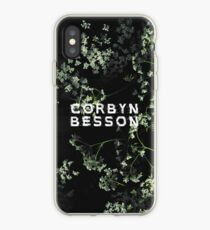 Corbyn Besson - B&W Floral Phone Case iPhone Case