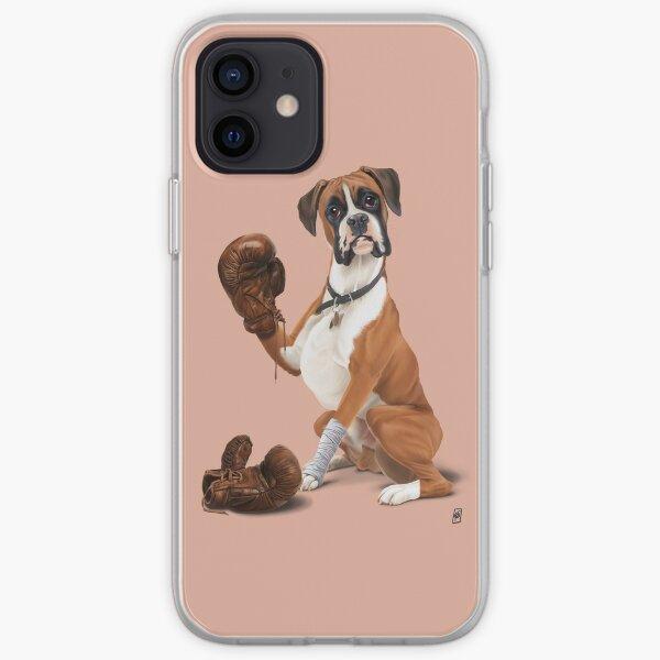 The Boxer (Colour) iPhone Soft Case