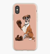 Der Boxer (Farbe) iPhone-Hülle & Cover