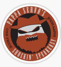 Angrybot: Pappa Servo's Sticker