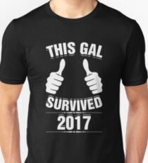 This Gal Survived 2017 Happy New Year's Celebration T-Shirt