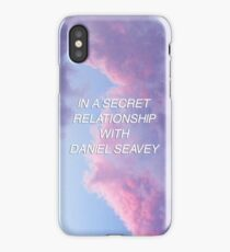 In a Secret Relationship with Daniel Seavey iPhone Case/Skin