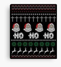 HO HO HO CHRISTMAS Canvas Print