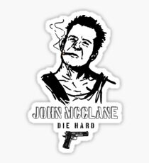John McClane Sticker