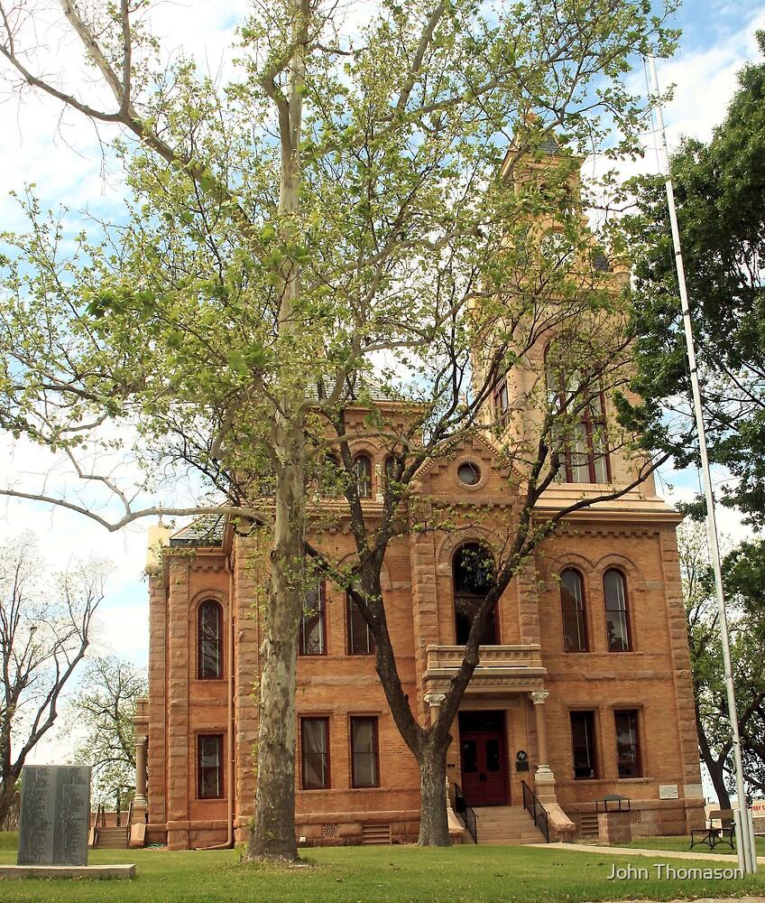 Llano Co. Courthouse, Llano, Tx. 1892 by John Thomason