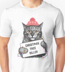 Christmas tree killer Unisex T-Shirt