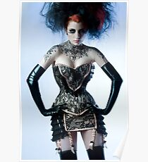 Ulorin Vex - Black Lace Poster