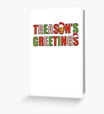 Treasons Greetings Anti Donald Trump Russia Russian Meuller Funny Christmas