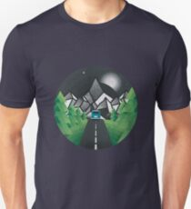Road to mountain Unisex T-Shirt