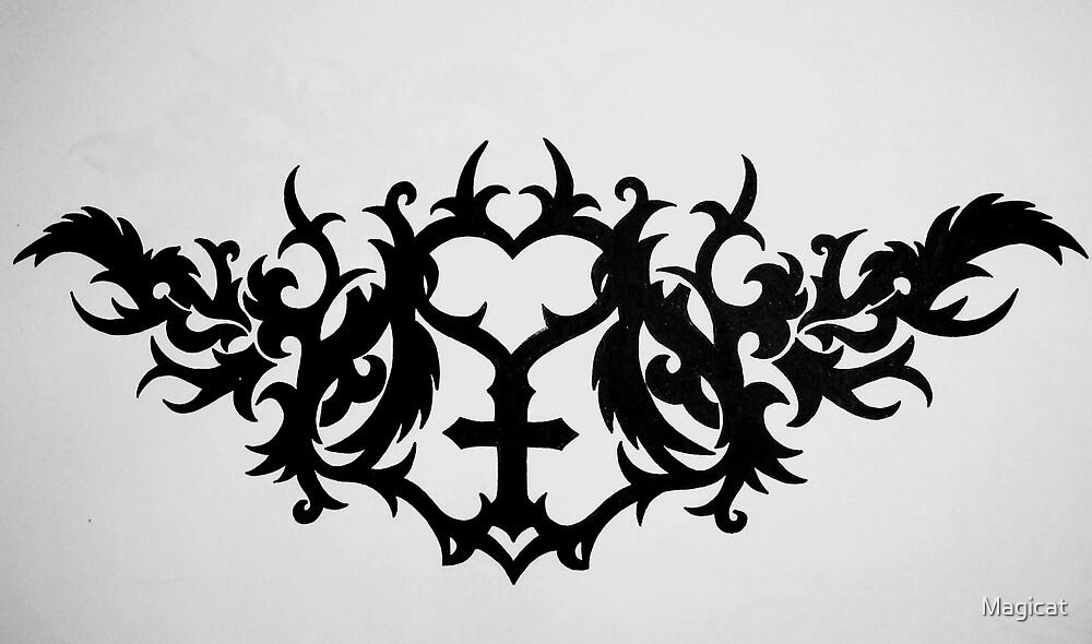 Tattoo design by Magicat