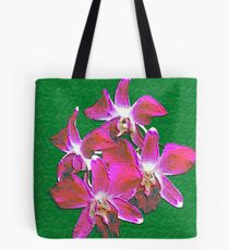 Artistic Orchid Tote Bag