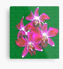 Artistic Orchid Metal Print