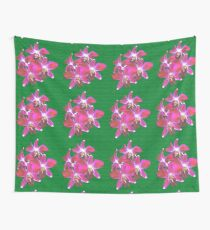 Artistic Orchid Wall Tapestry