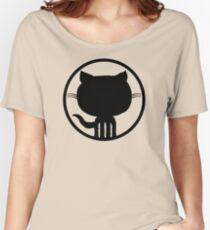 Popular Github Linux Merb Ruby GEEK programmer LM325 Best Trending Women's Relaxed Fit T-Shirt