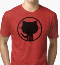 Popular Github Linux Merb Ruby GEEK programmer LM325 Best Trending Tri-blend T-Shirt