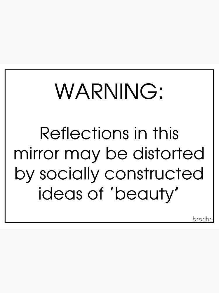 Sozial konstruierte Schönheit von brodhe