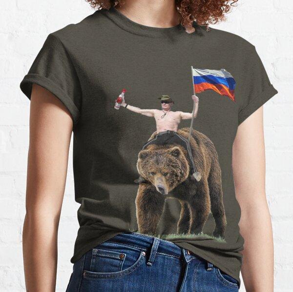 Putin Wodka Bear Trainingsanzug Hardbass Classic T-Shirt