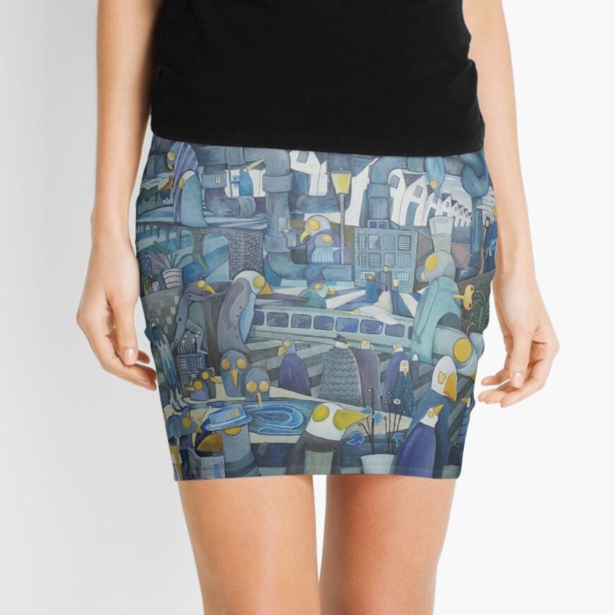 Pipes Mini Skirt