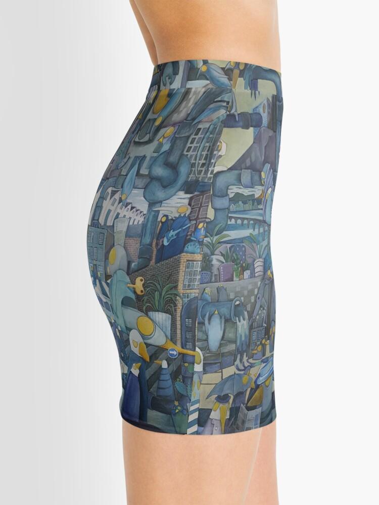 Alternate view of Pipes Mini Skirt