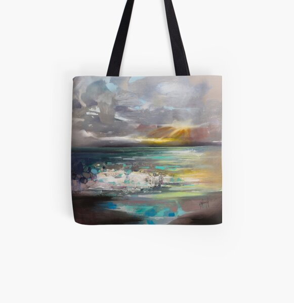 Breaking All Over Print Tote Bag