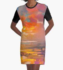 Vivid Light 3 Graphic T-Shirt Dress